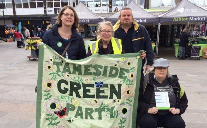 Tameside Green Party Snap General Election Fund