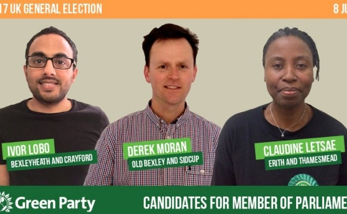 Bexley Green Party: 2017 General Election Fund