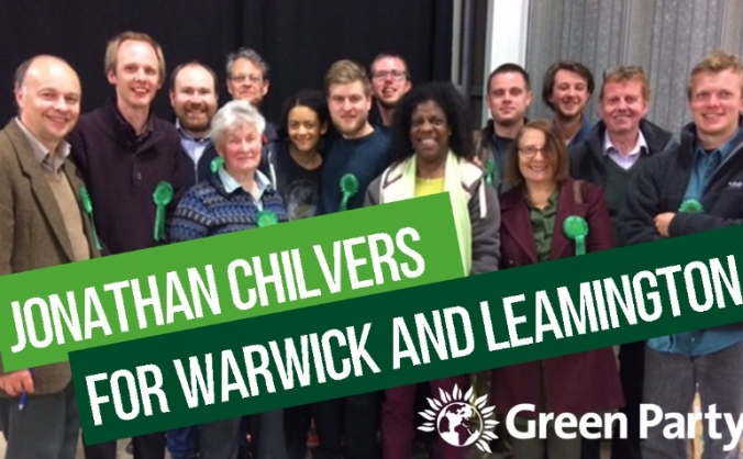 Jonathan Chilvers  Your Green Party Candidate