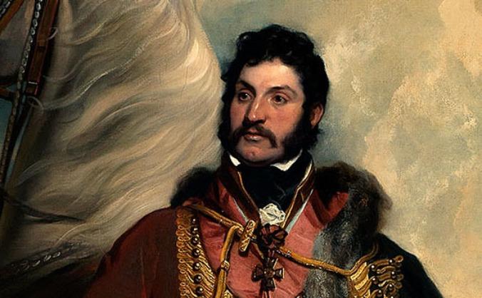 Sir Hussey Vivian at the Royal Cornwall Museum
