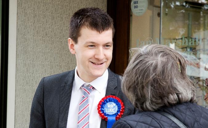 Elect Aleks Lukic as Batley and Spen's Brexit MP