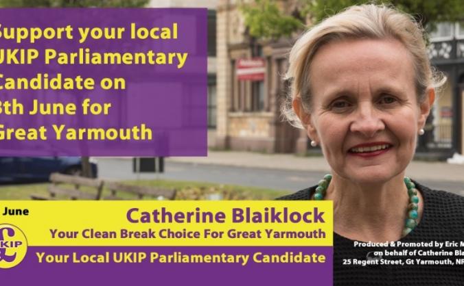 Make Yarmouth Great Again - Vote UKIP 8 June!