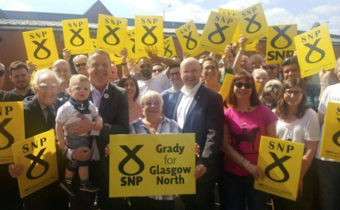 Re-elect Patrick Grady for Glasgow North