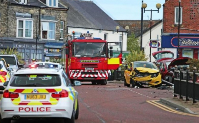 Donations for the Spennymoor car incident