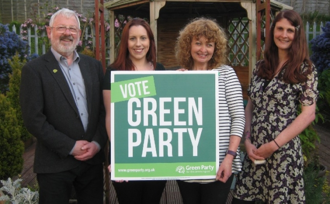 Fundraising for Wirral Green Party candidates