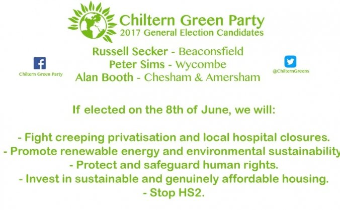 Chiltern Green Party General Election 2017 Fund