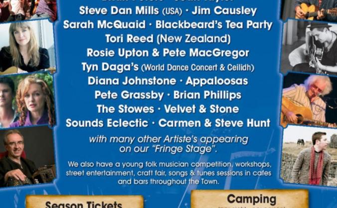 Cornwall Folk Festival 2015