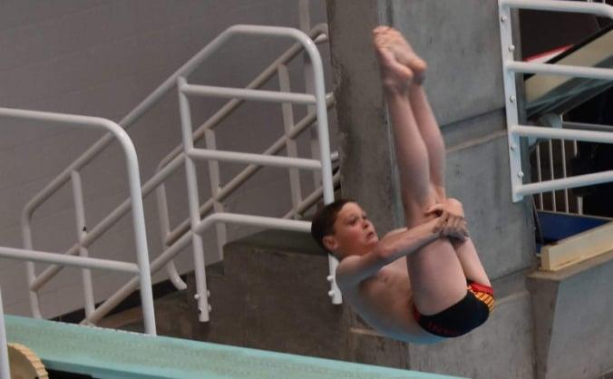 Send Irish diver Logan to American diving camp