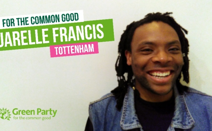 #Jarelle4Tottenham - Haringey Green Party 2017
