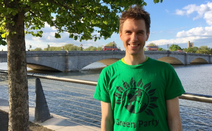 Help Ben stand  as the Green Party PPC in Putney!