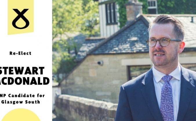 Re-Elect Stewart McDonald | SNP | Glasgow South