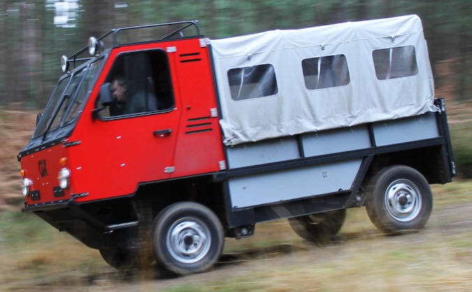 OX - the world's first 'flat-pack' truck