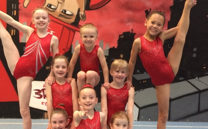 Help us go to demond gymnastics club for a camp