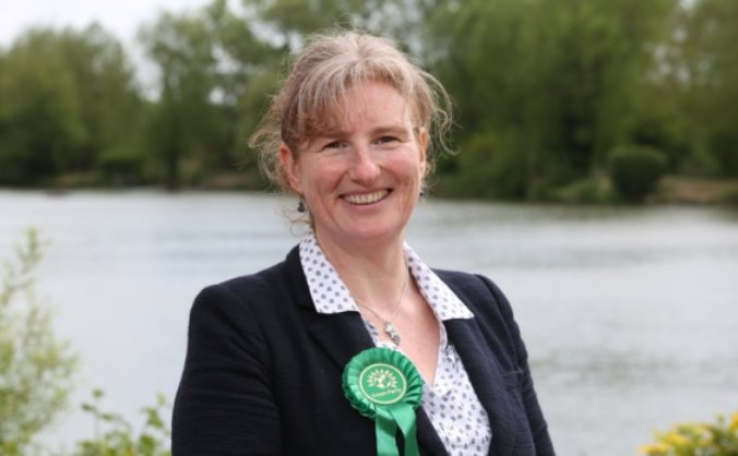 Green Party Election Campaign - Christianne Sayers