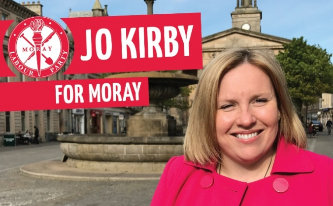 Jo Kirby for Moray 2017