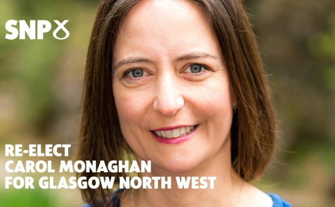 Re-Elect Carol Monaghan for Glasgow North West
