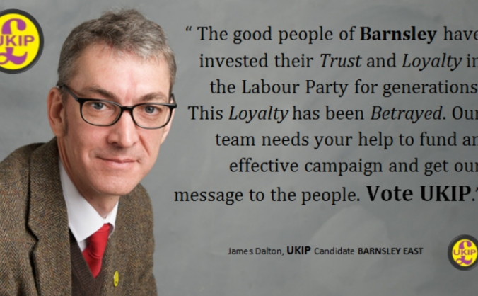 BARNSLEY First - Vote James Dalton UKIP