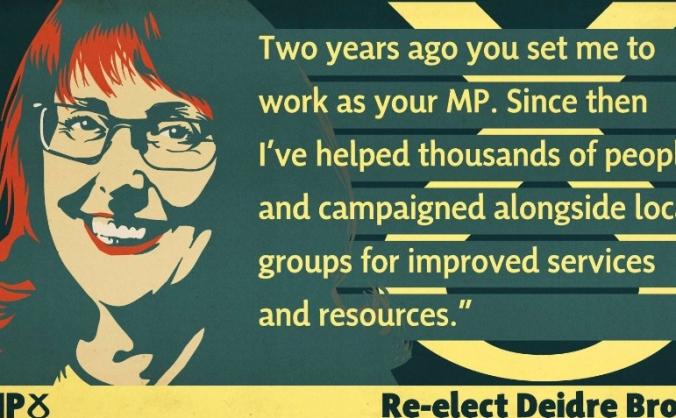 Re-elect Deidre Brock to Edinburgh North and Leith