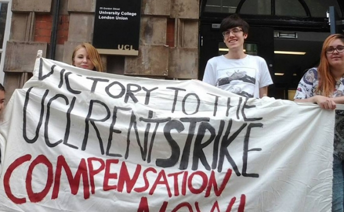 Help the UCL Rent Strike Solidarity fund!