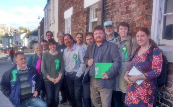 Help the Greens stand all our candidates in the NE