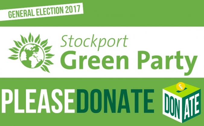 Stockport Green Party 2017 Election Campaign