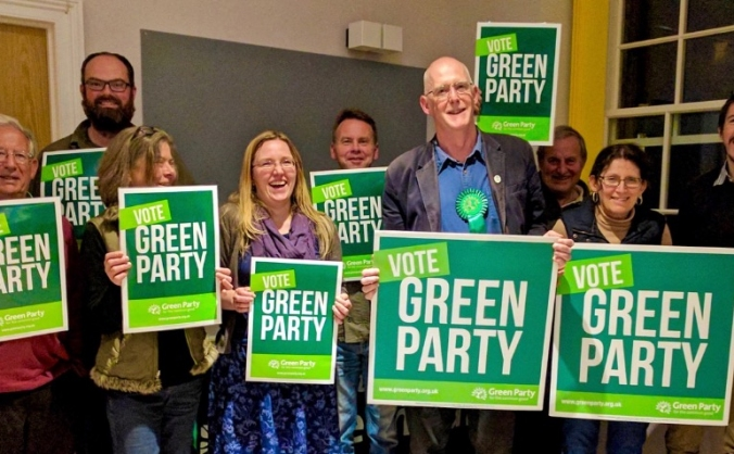 Help the Green Party win in Taunton Deane
