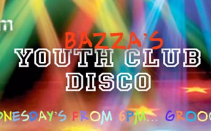 Bazza's Youth Club Disco Sponsorship