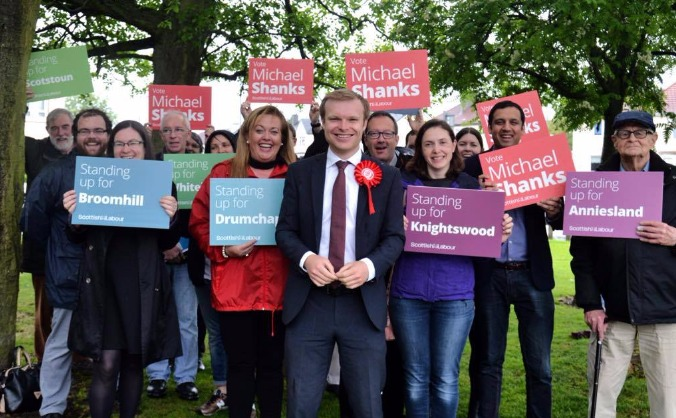 Michael Shanks for Glasgow North West