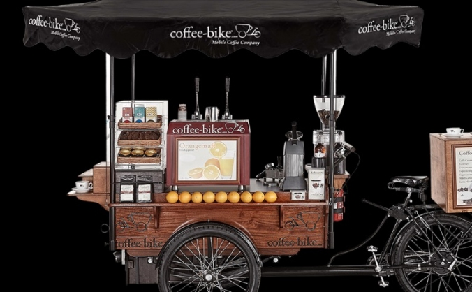 Coffee-bike start up!