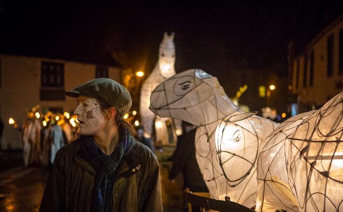 Ullswater Lantern for Winter Droving
