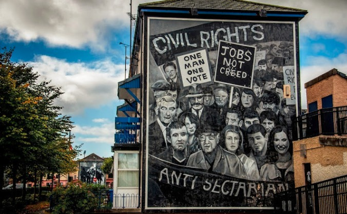 The Bogside Artists' Murals: Travelling Exhibition