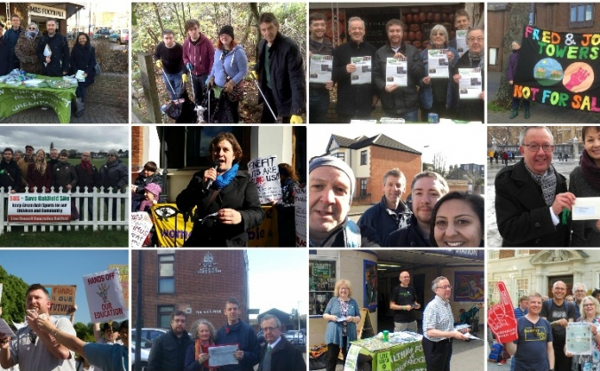 Greens Stand in Waltham Forest and Redbridge