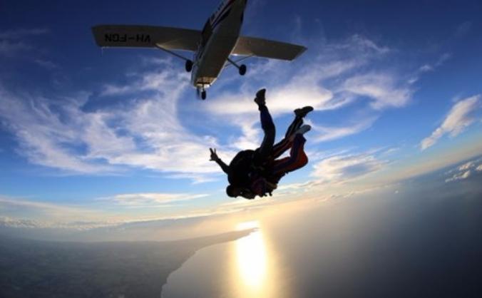 Sponsored Skydive - BAE Benevolent Fund
