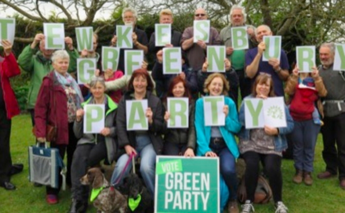 Tewkesbury Green Party General Election Campaign