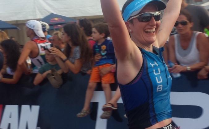 Jess Bass (GBR) Long Dist Triathlon Euro Champs