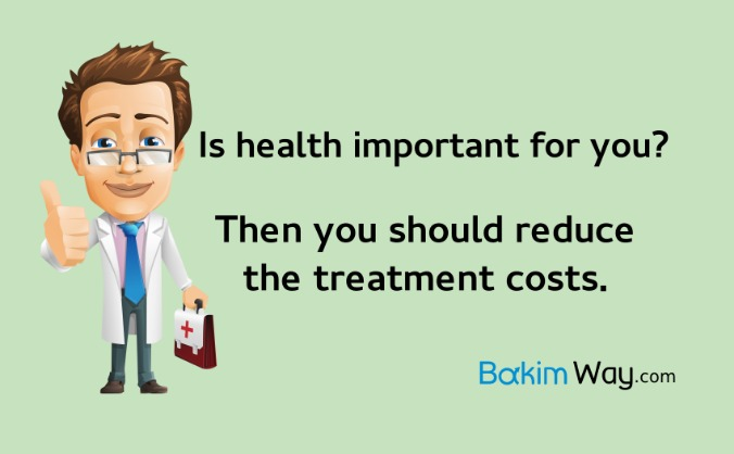 Save your money to medical treatments