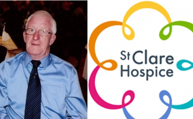 Fundraising  for St Clare Hospice in Carl's honour