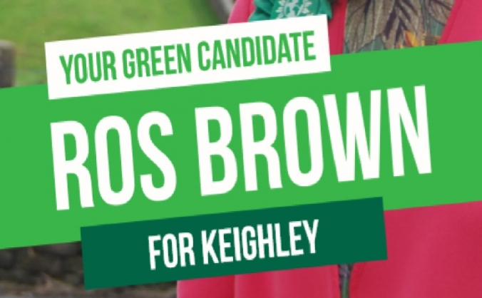 Elect Ros Brown as Keighley's first Green MP