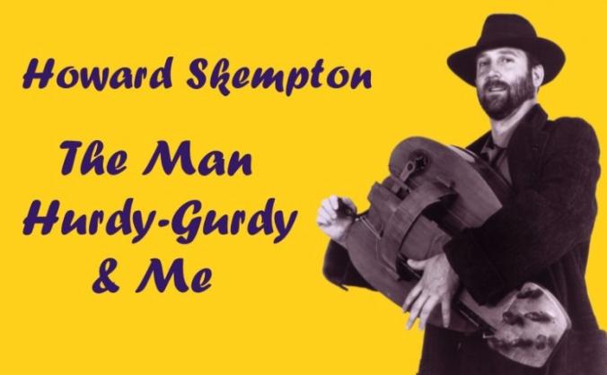 Recording Skempton album – Man Hurdy-Gurdy & Me