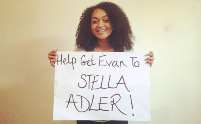 Help Get Evan to Stella Adler