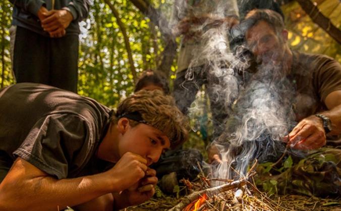 Boys Rites of Passage Camp