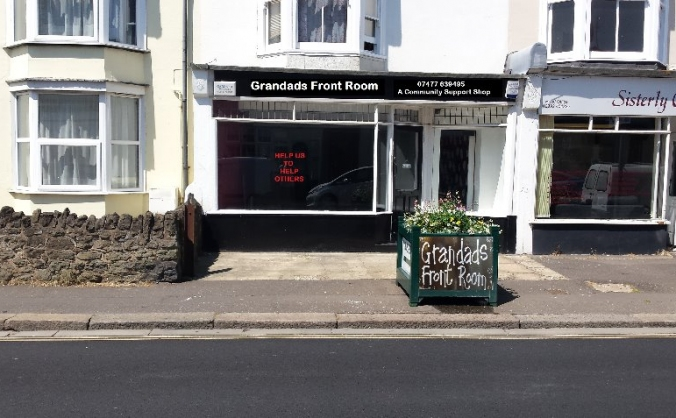 Grandads Community Support Shop