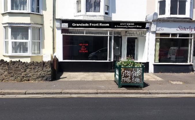 Grandads Community Support Shop