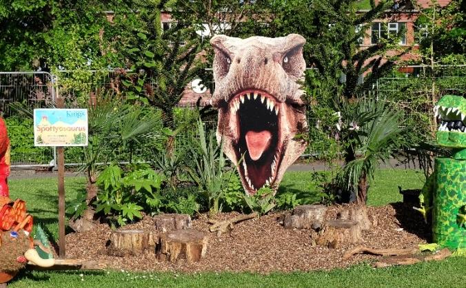 Macclesfield Garden Festival - Dinosaur garden