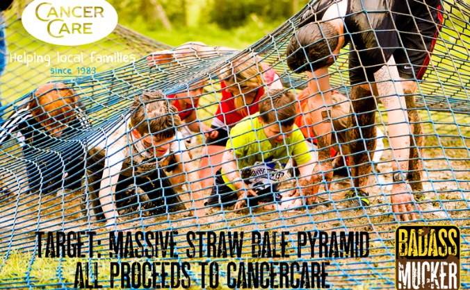 Giant Straw Pyramid for Kids & CancerCare
