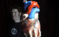 Richard Tyrone Jones Has a Big Heart - Edinburgh & tour 2012