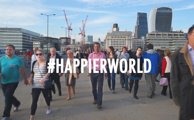 What really matters in life? #HappierWorld