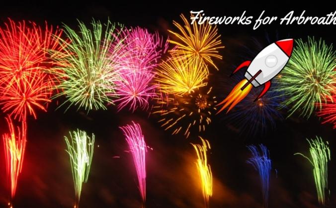 Fireworks for Arbroath 2015
