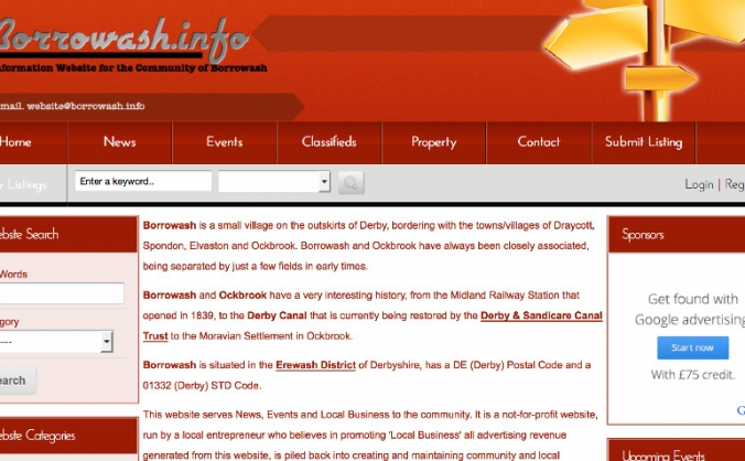 Borrowash Info Site