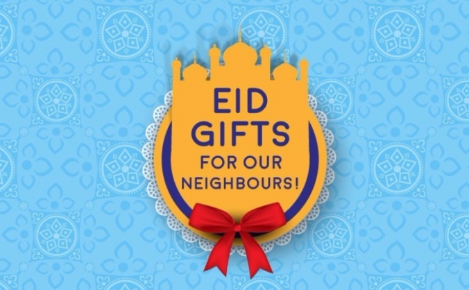 Sharing the Eid feeling with Ealing (1 last time!)